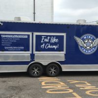 Food truck for Wing Champs